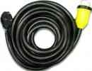 RV Marine Power Cord 40' 30 amp with Marinco Hubbell Locking Connector