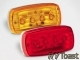 #58 LED Clearance/Side Marker Light Red