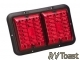 #84 LED Double RV Taillight Red
