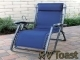 Coronado Series Recliner Chair California Blue