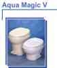 Hand Flush, Low Profile Parchment, Aqua Magic V O/B